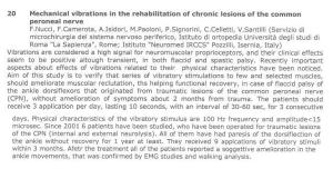 lesione dello spe riabilitazione con crosystem