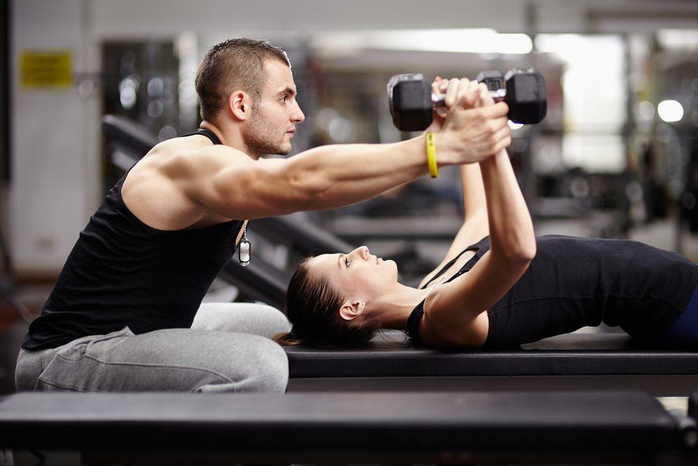 potenziamento muscolare allenamento